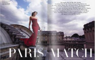 Paris Match Carla Bruni And Nicolas Sarkozy Maureen Orth